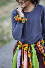 African Kente Fabric Scrap Skirt Tutu By SweetLooks Collection - SweetLooks Collection