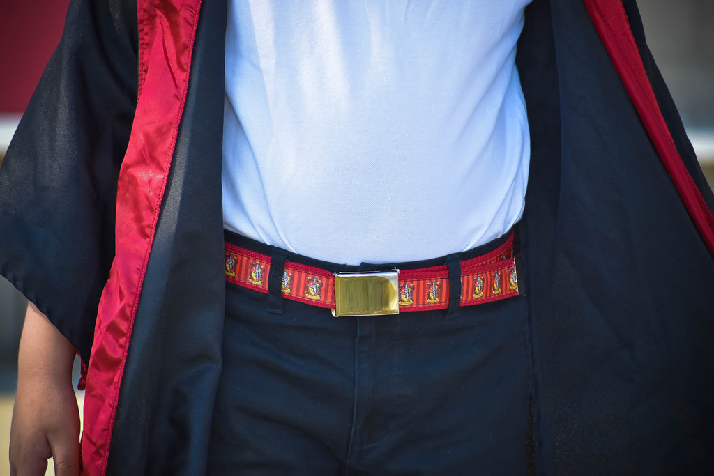 Harry Potter Gryffindor Belt - Dapper Xpressions