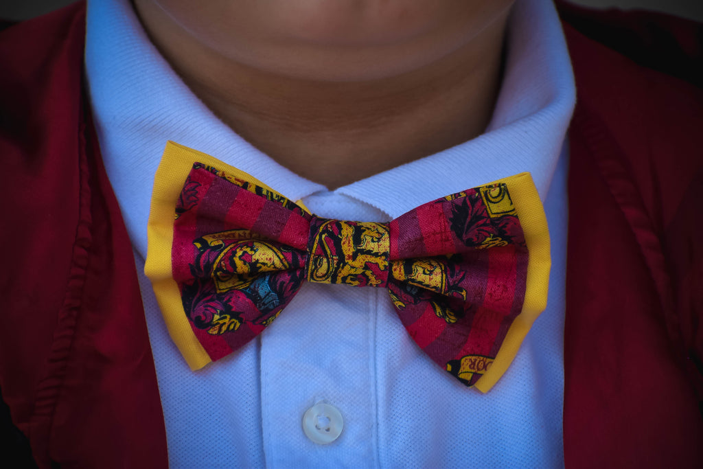 Harry Potter Gryffindor Bow Ties and Hair Bows - Dapper Xpressions