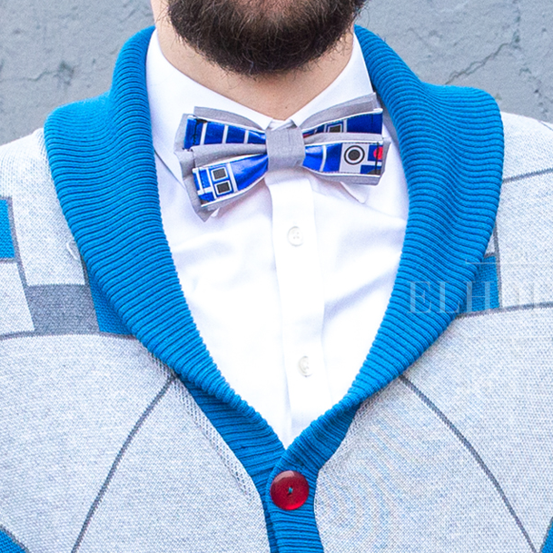 R2D2 Inspired Bow Ties and Hair Bows - Dapper Xpressions