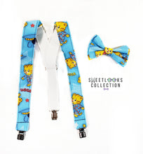 Daniel Tiger Suspenders By SweetLooks Collection - SweetLooks Collection