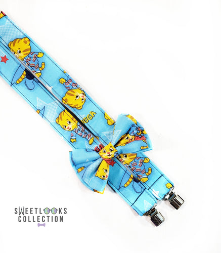 Daniel Tiger Suspenders - SweetLooks Collection