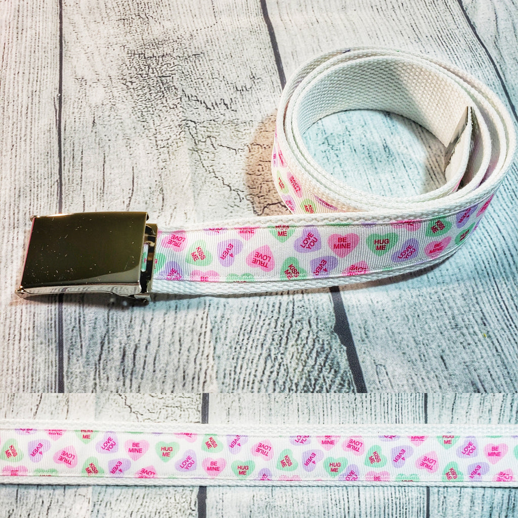 Conversation Hearts Belt - Dapper Xpressions