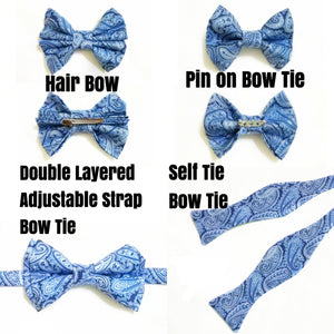 Music Notes Bow Ties and Hair Bows By SweetLooks Collection - SweetLooks Collection
