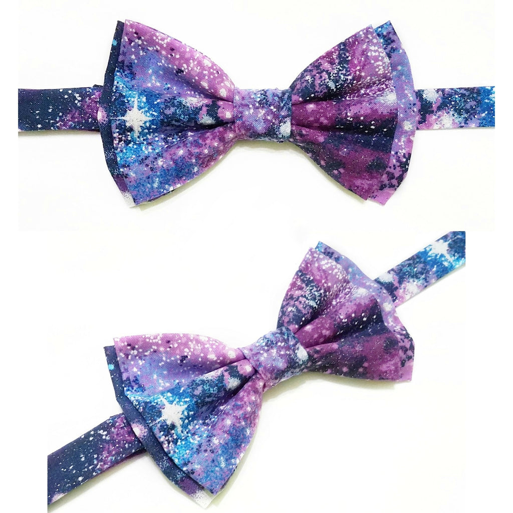 Glitter Galaxy Pet Bow Tie - Dapper Xpressions