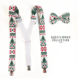 Ugly Christmas Suspenders