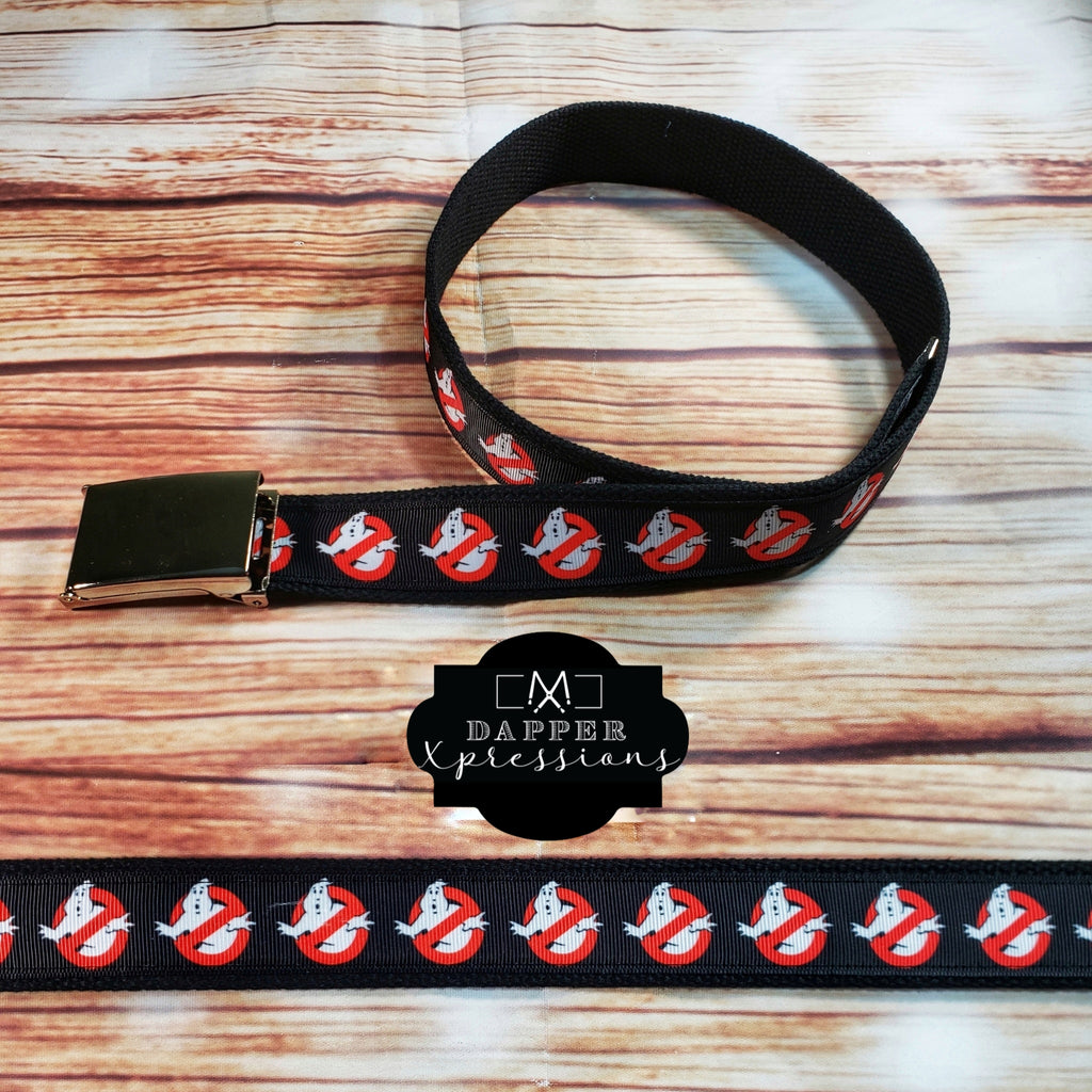 Ghostbusters Belt, Black - Dapper Xpressions