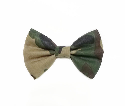 Camo Bow Ties and Hair Bows By SweetLooks Collection - SweetLooks Collection