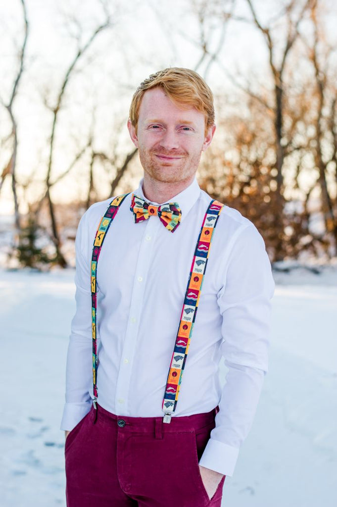 Game of Thrones Suspenders - Dapper Xpressions