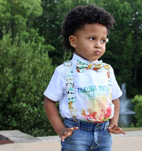 Lion King Suspenders By SweetLooks Collection - SweetLooks Collection