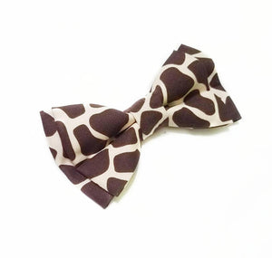 Giraffe Bow Ties and Hair Bows By SweetLooks Collection - SweetLooks Collection