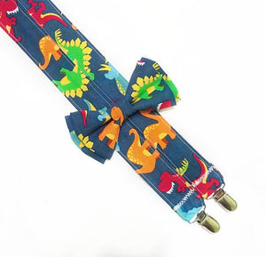 Dinosaur Suspenders - SweetLooks Collection