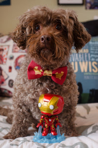 Iron Man Pet Bow Tie By SweetLooks Collection - SweetLooks Collection
