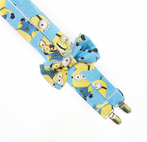 Minions Suspenders By SweetLooks Collection - SweetLooks Collection