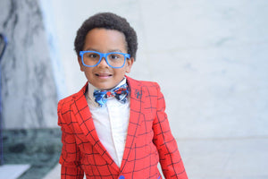 Spiderman Bow Ties and Hair Bows By SweetLooks Collection - SweetLooks Collection