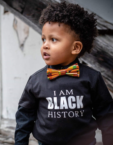 African Orange Kente Bow Ties and Hair Bows By SweetLooks Collection - SweetLooks Collection