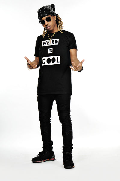 Weird is Cool T-Shirt (Black)
