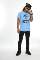 Weird is Cool T-Shirt (Light Blue)