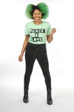 Peace & Love T-Shirt (Green)