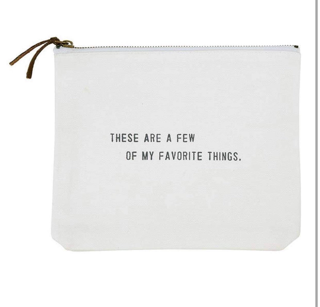 Favorite Things Pouch