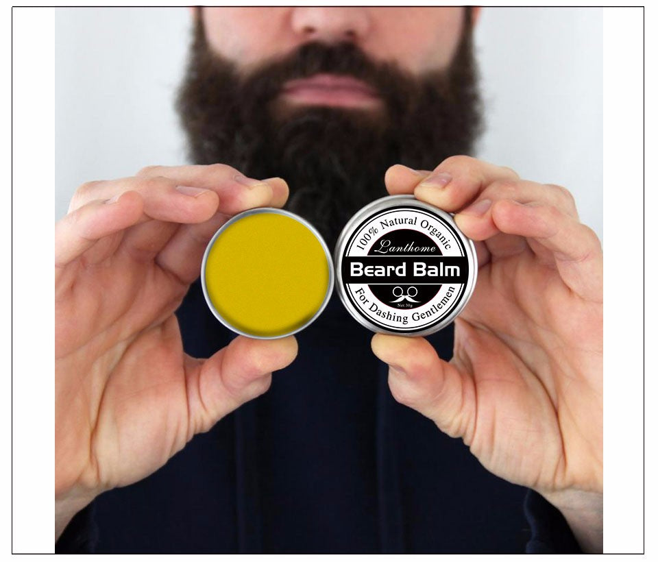 Natural Beard Oil plus beard balm - Free Worldwide Shipping