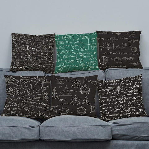 Physics Formula Pillow Case