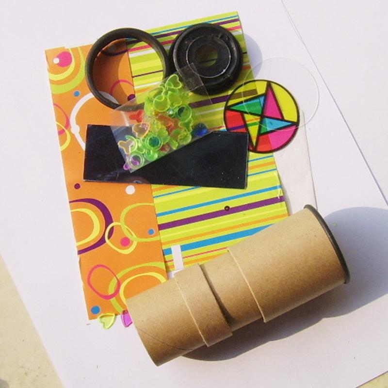 DIY Double Handmade Kaleidoscope