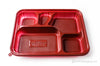 INNER-LOCK 5 COMP BENTO-RED