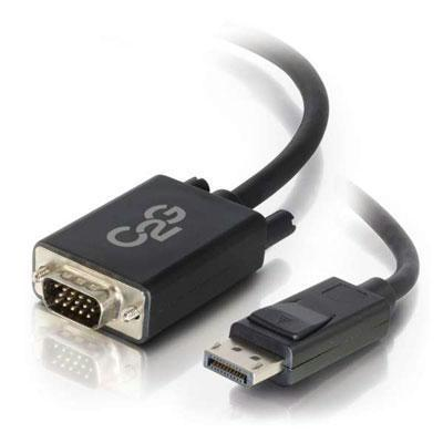 6' Displayport M To VGA M Blk