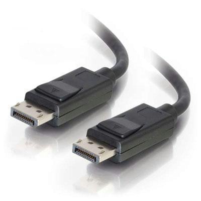 6ft Displayport Cable Male to Male Blk