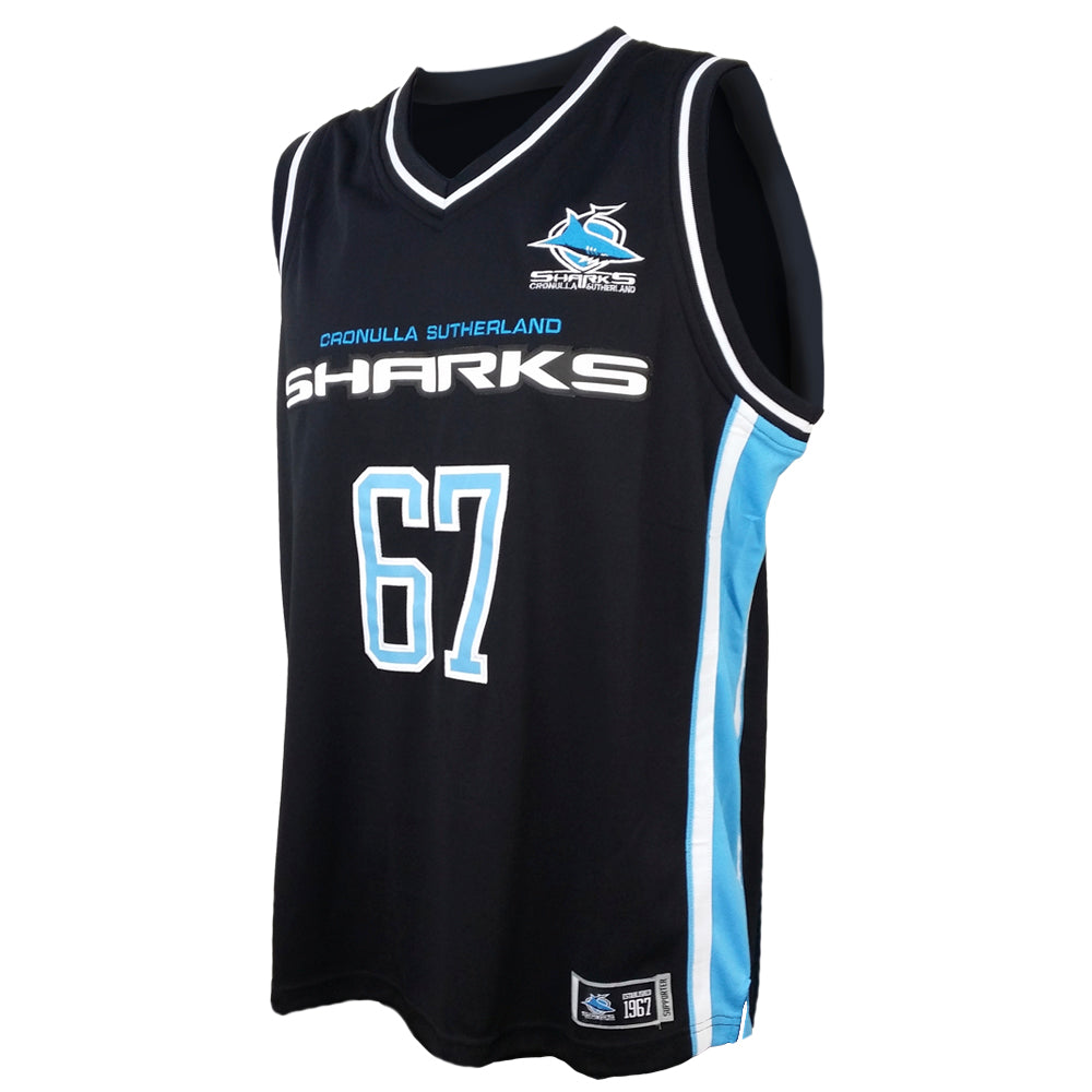 NRL Sharks Kids Courtside Singlet