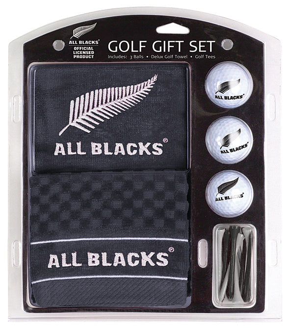 All Blacks Golf, Embroidered Towel Gift Set