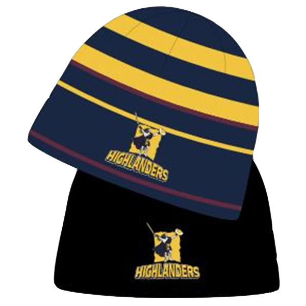 Highlanders Reversible Striped Beanie