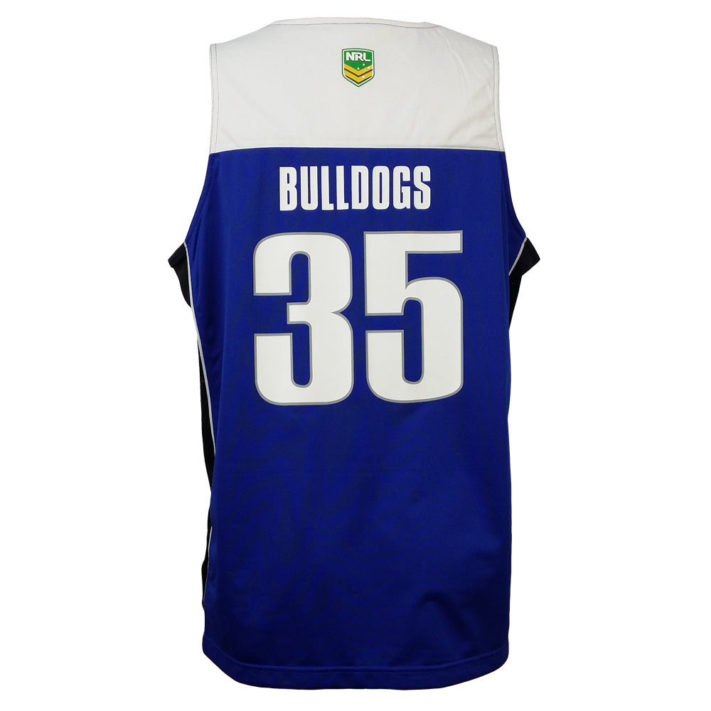 NRL Bulldogs Off-field Singlet