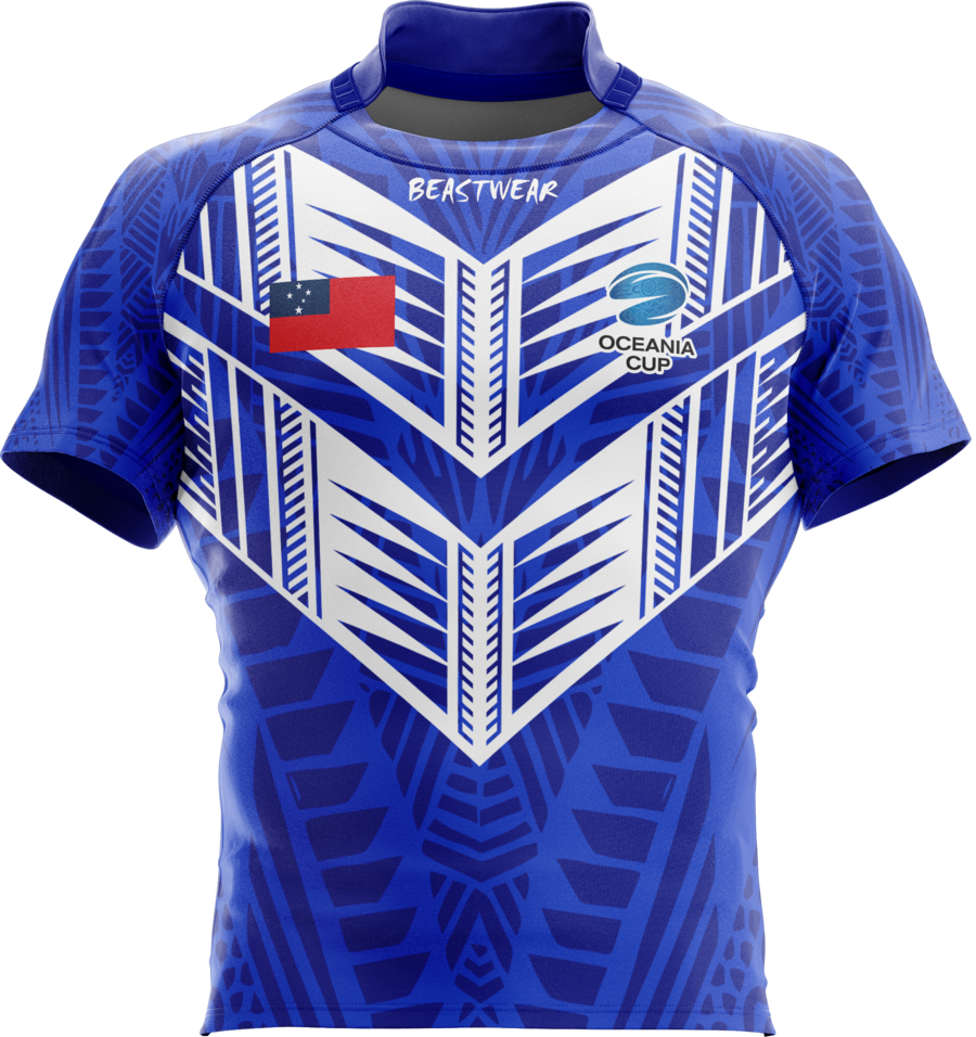 Oceania Cup Samoan Supporter Jersey