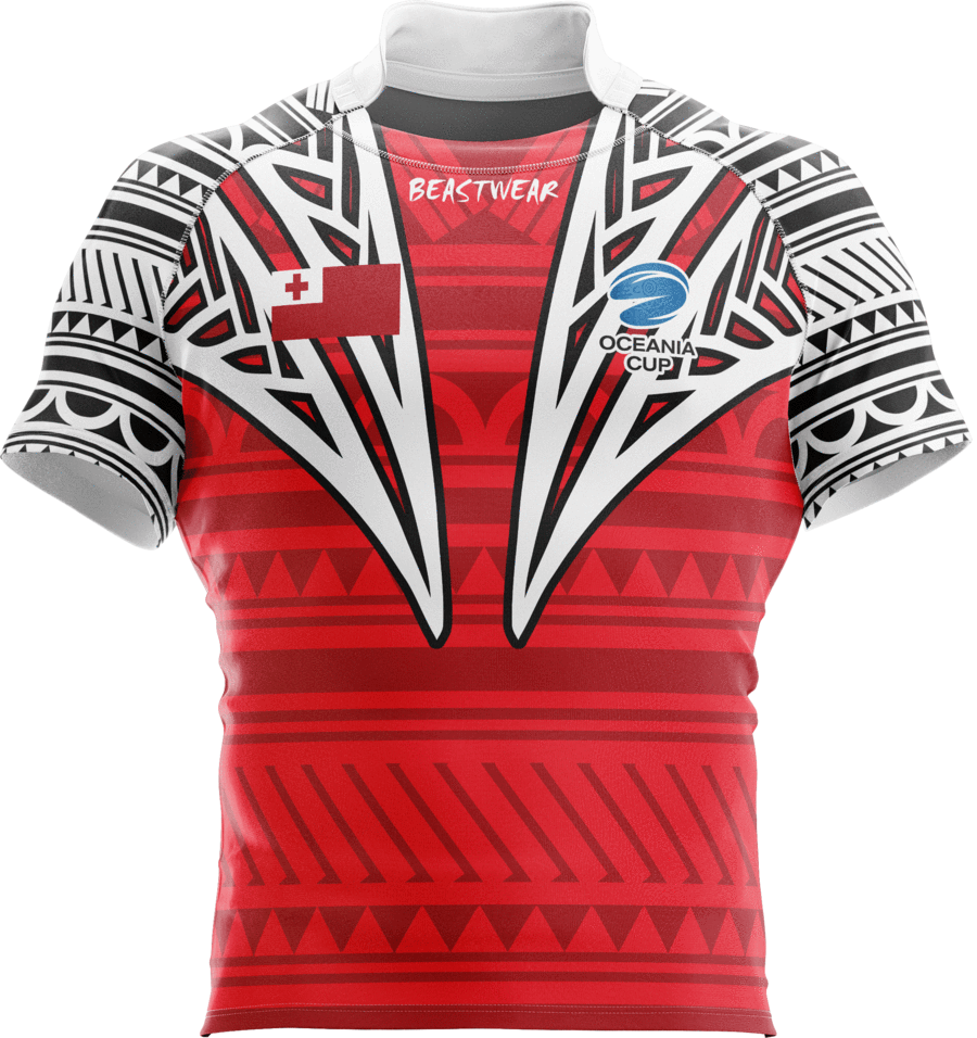 Oceania Cup Tongan Supporter Jersey