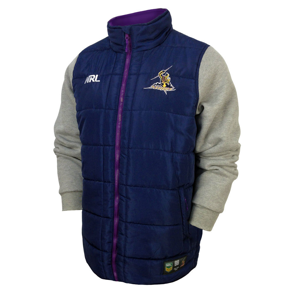 NRL Storm Puffer Fleece Jacket