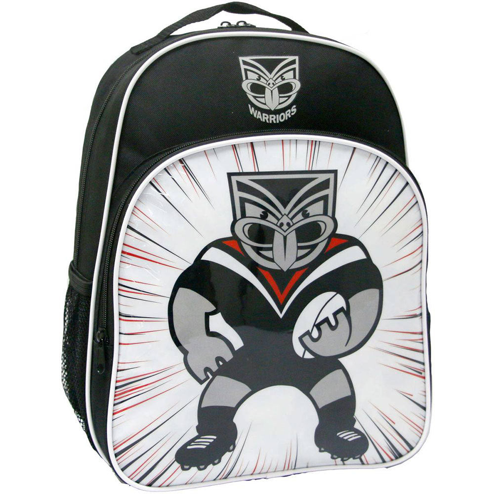 Warriors Kids Mascot Backpack