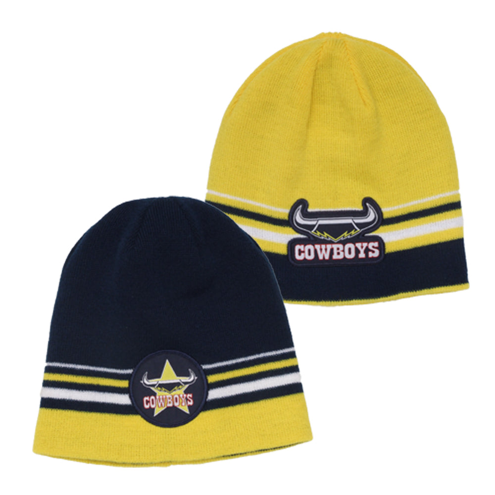 Cowboys Beanie Reversible