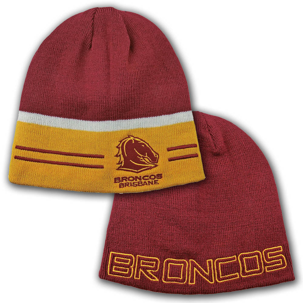Broncos Switch Reversible Beanie