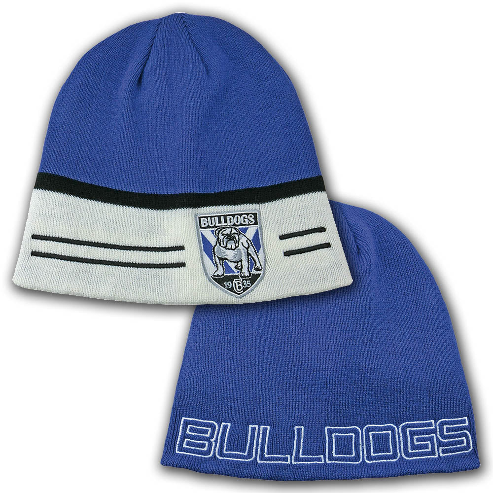 Bulldogs Switch Reversible Beanie