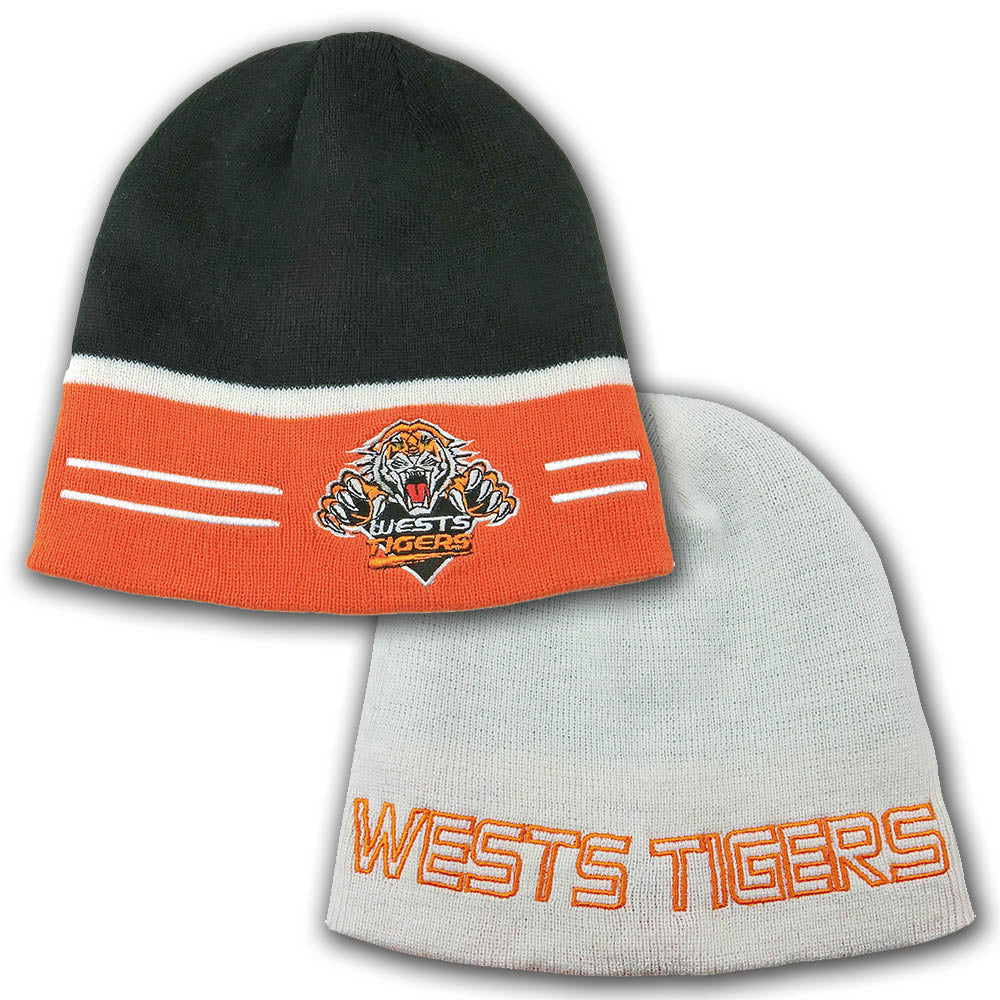 Tigers Switch Reversible Beanie