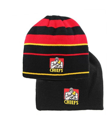 Chiefs Reversiable Stripe Beanie