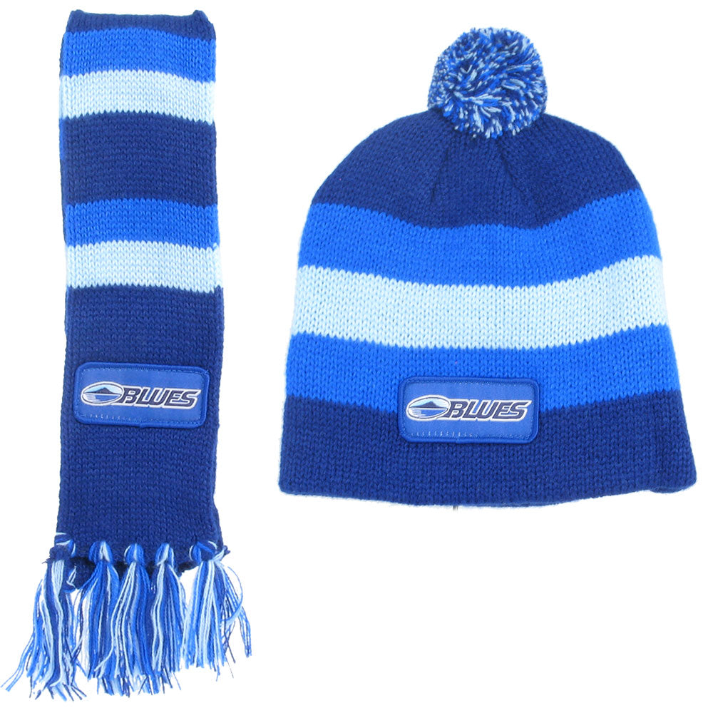Blues Infant Scarf & Beanie Combo