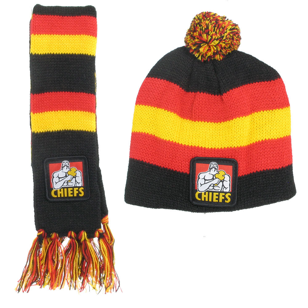 Chiefs Infant Scarf & Beanie Combo