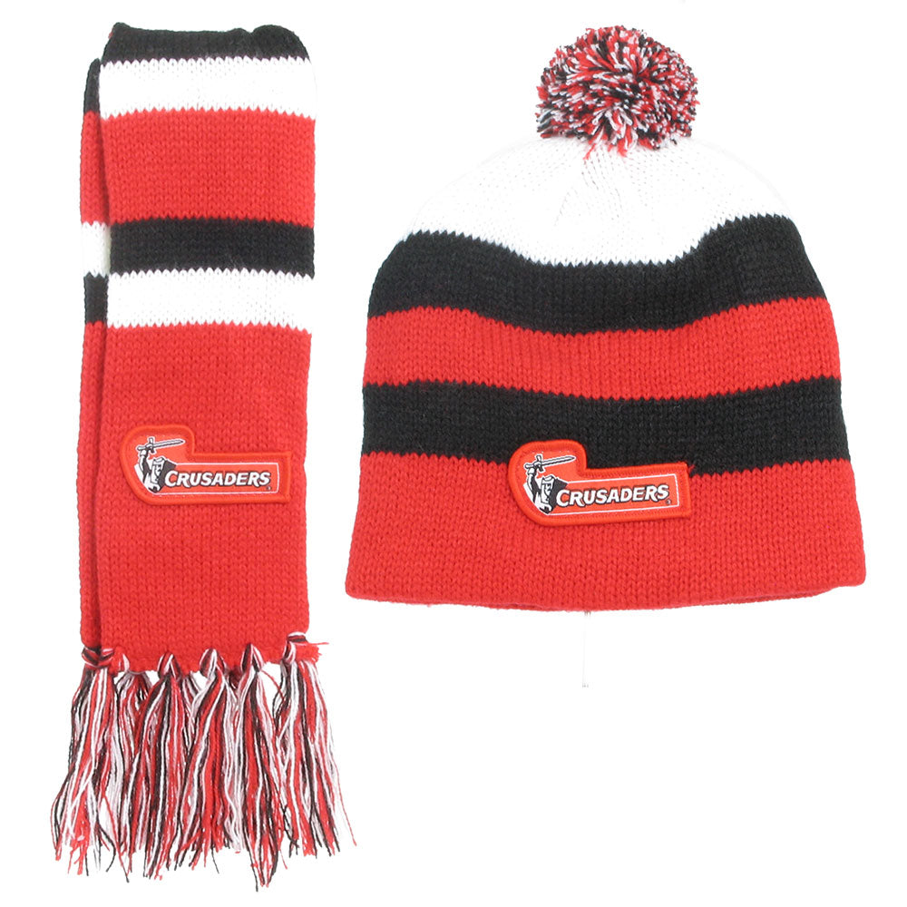 Crusaders Infant Scarf & Beanie Combo