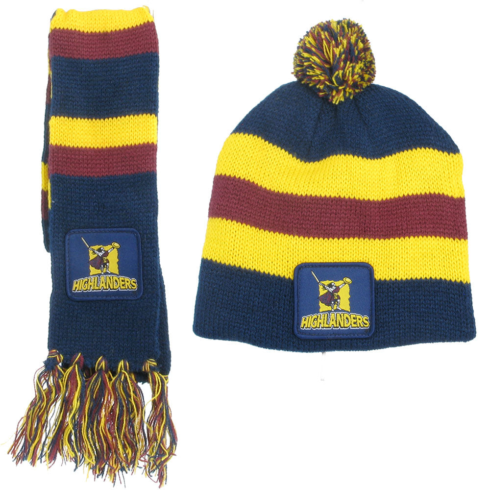 Highlanders Infant Scarf & Beanie Combo
