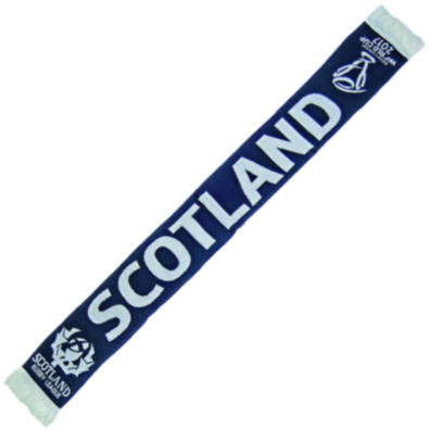 Rugby League World Cup Scotland Jacquard Scarf