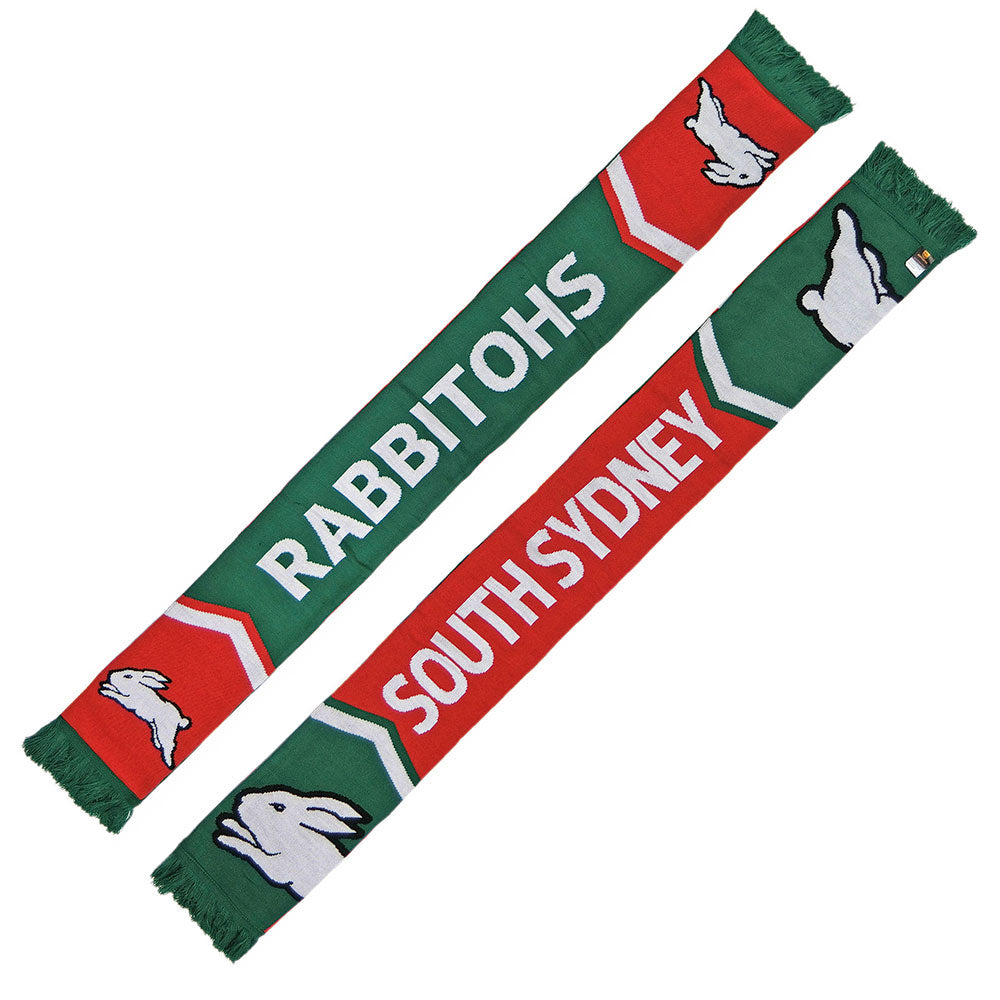 Rabbitohs Cleave Jacquard Scarf
