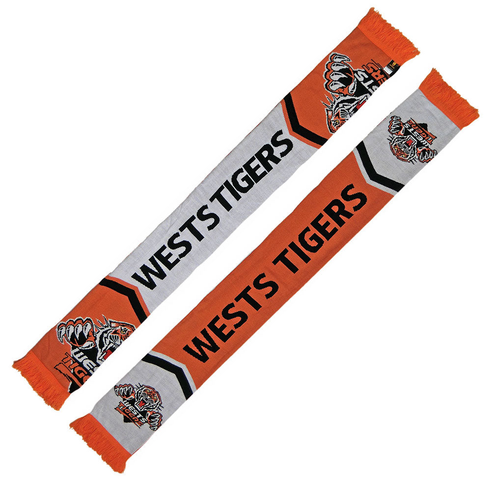 Tigers Cleave Jacquard Scarf